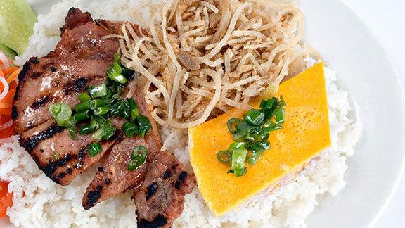 Cơm tấm sườn nướng at Saigon Cafe Buford