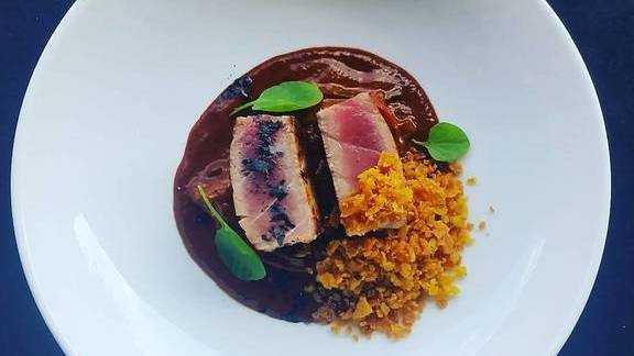 Seared Bonito  at Cooks & Soldiers