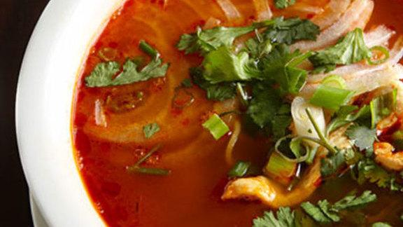 Canh chua gà at Vietnam Cafe
