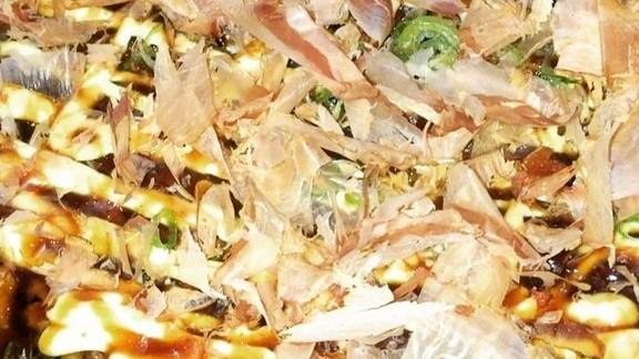 Okonomiyaki at Namu Stonepot