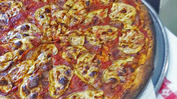 Old Smokey pizza at Rustica Pizza