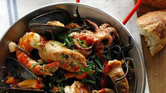 Fideuà at Barbuzzo Mediterranean Kitchen & Bar