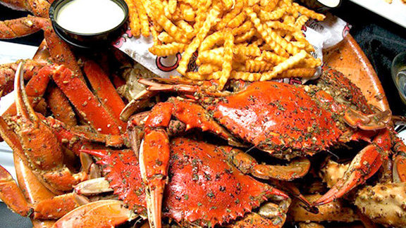 Dungeness crab at Chickie's & Pete's