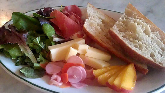 Ploughman's Lunch at Oddfellows Cafe & Bar