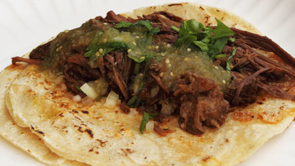 Chef Josef Centeno reviews Birria tacos at