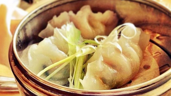 Xinjiang cumin lamb dumplings at Blackbrick Chinese