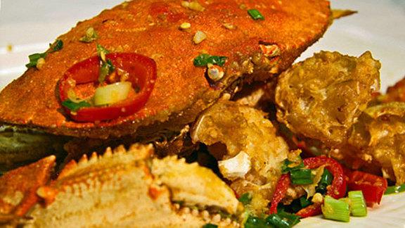 King crab at Newport Tan Cang Seafood Restaurant
