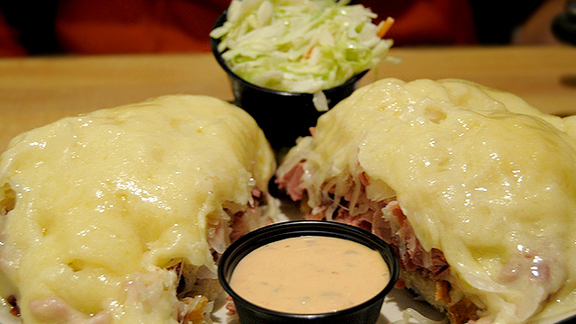 Chef John Sheely reviews The One & Only Reuben at