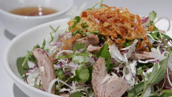 Gỏi vịt at Huynh Restaurant