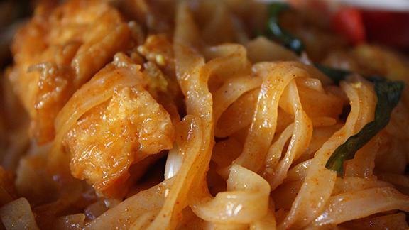 Pad Thai at Thaitanic Restaurant