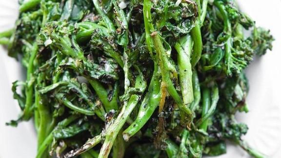 Grilled broccoli di cicco at Chi Spacca