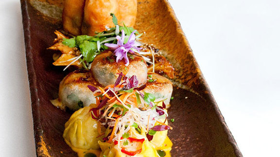 Saturday dim sum brunch at The Source by Wolfgang Puck