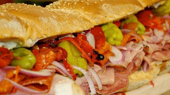 Chef Jason Santos reviews Italian sub at
