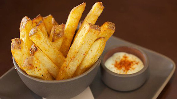 French fries at Prospect