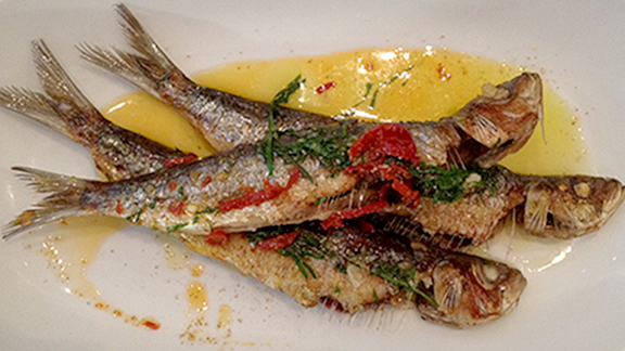 Chef Angela Hartnett reviews Sardines a la plancha at