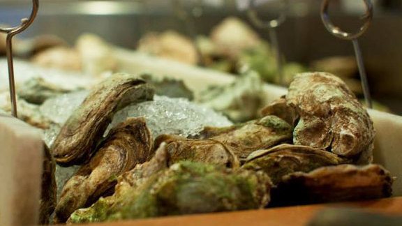 Chef Clare Smyth reviews Oysters on the half shell at Bentley's Oyster Bar & Grill