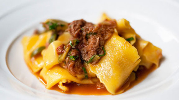 Chef Atul Kochhar reviews Braised lamb with pappardelle at Murano