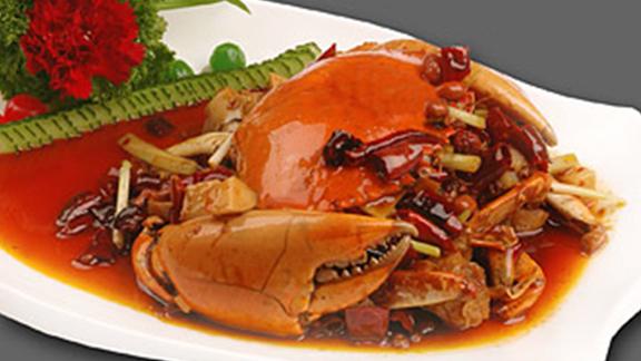 Barshu fragrant-and-hot crab at Barshu