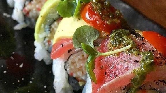 Tataki Maki roll at OBON Sushi & Ramen Bar