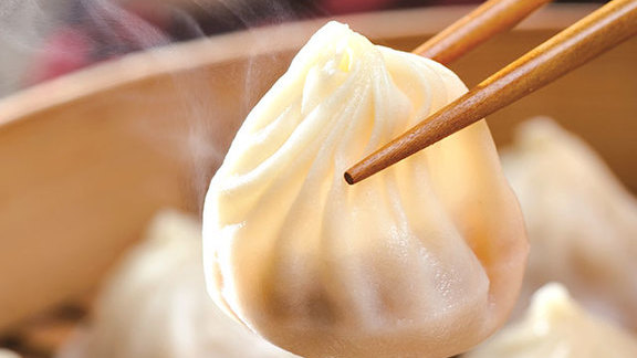 Soup dumplings at Din Tai Fung Dumpling House #1