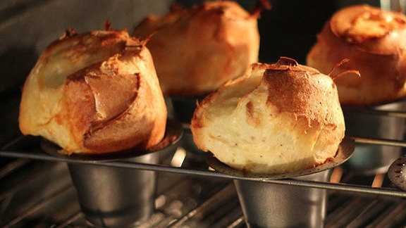 Gruyere popovers at Foreign & Domestic