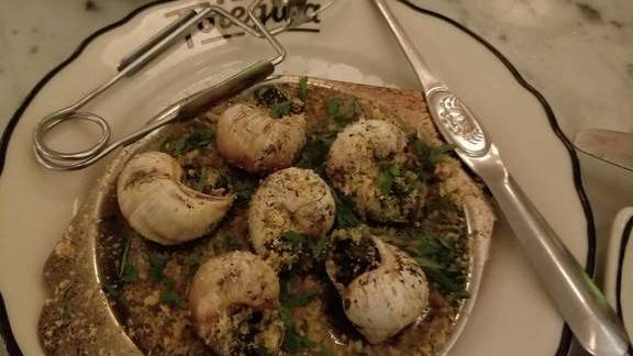 Escargots at Foiegwa