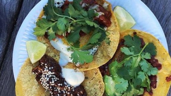 Tacos at Torvehallerne