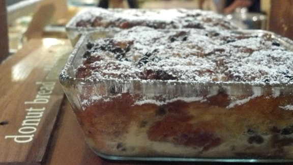 Donut bread pudding at Dynamo Donut & Coffee