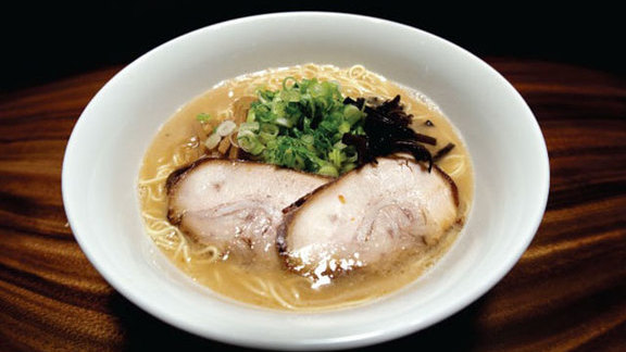 Chef Brian Howard reviews Tonkatsu-shoyu ramen at