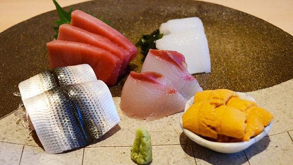 Sushi bar at Kabuto Edomae Sushi
