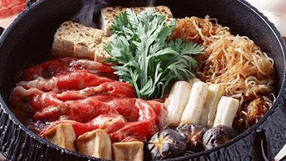 Prime rib-eye sukiyaki at Swish