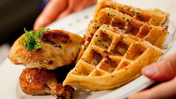 Chef Ben Jenkins reviews Chicken & waffles at
