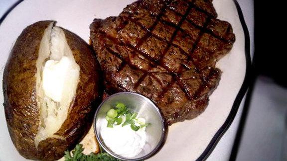 Ribeye steak at Taylor's Prime Steak House