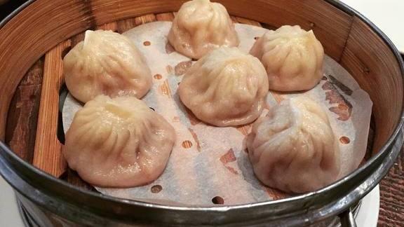 Xiao long bao - soup dumplings at Royal China