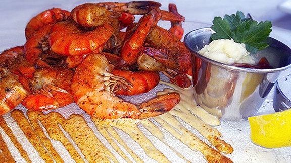 Chef Paul Reilly reviews Peel 'n' eat shrimp ½lb. at
