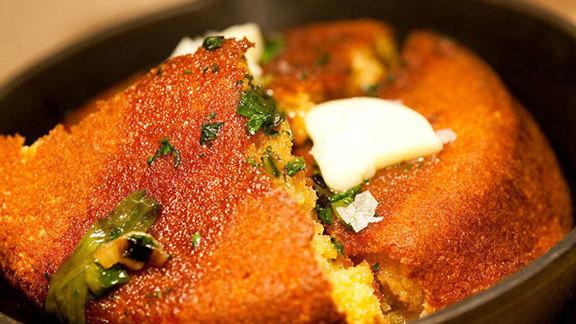 Chef Merlin Verrier reviews Cornbread at
