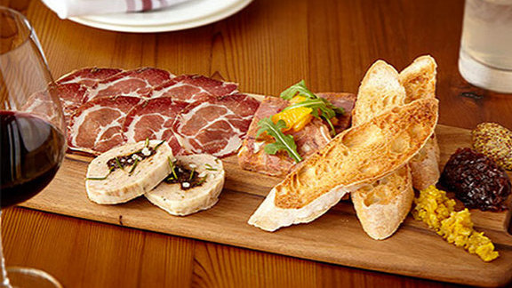 Chef Bryan Moscatello reviews Charcuterie board at