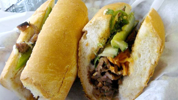 Bánh mì thịt nướng at Tâm Deli and Cafe