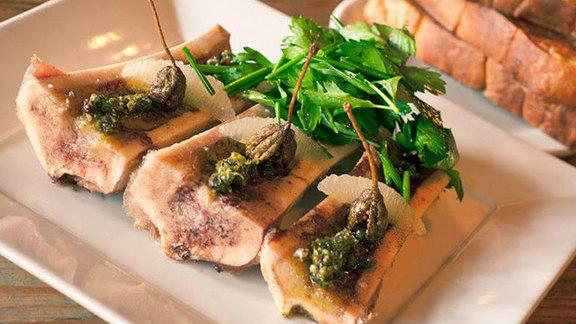 Chef Hanis Cavin reviews Roasted bone marrow at