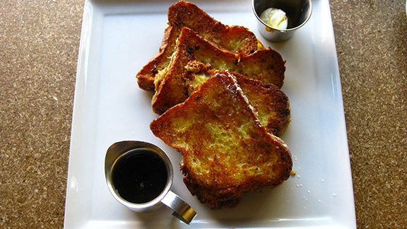 French toast at Square One Dining