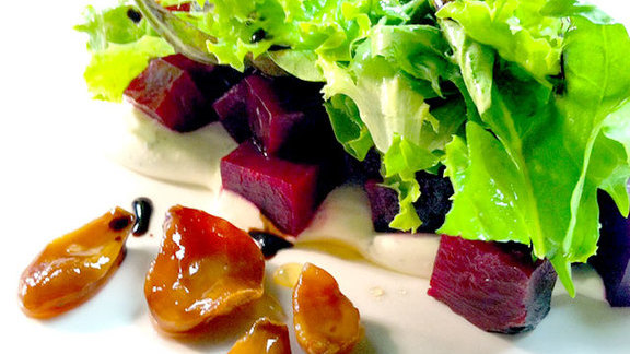 Roasted beet salad at Roy's Hawaii Kai (The Original)