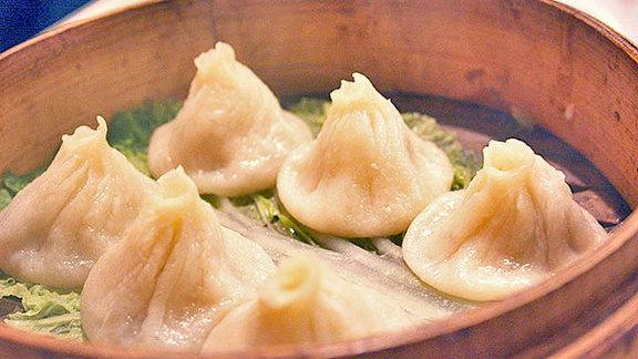 Soup dumplings at Kingdom Of Dumpling