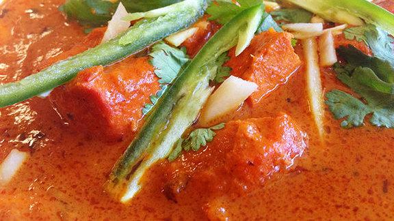 Chicken tikka masala at Shalimar