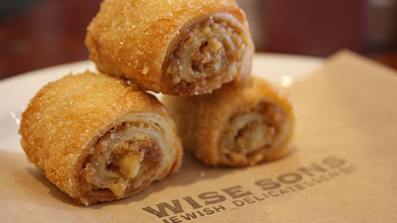 Rugelach at Wise Sons Jewish Delicatessen