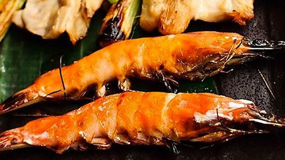 Soft shell shrimp at Yuzu Sushi and Robata Grill
