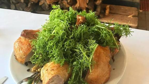 Roasted Chicken at Zuni Cafe