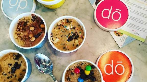 Cookie dough flavors at Emmy Squared
