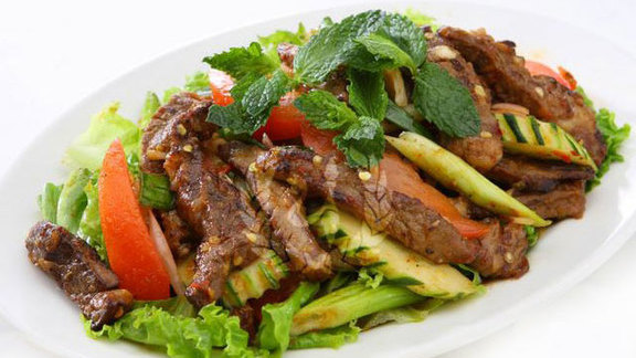 Thai Nakorn beef salad at Thai Nakorn