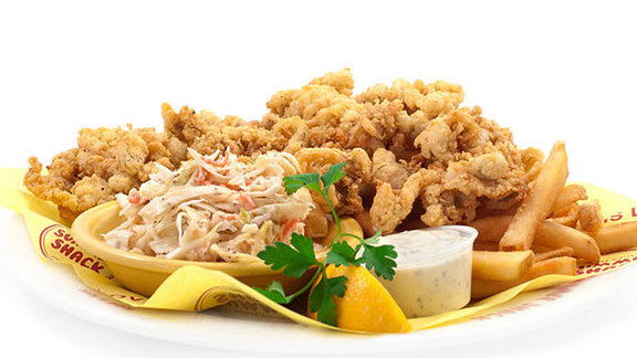 Crispy fried Ipswich whole belly clams at Summer Shack