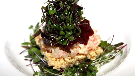 Chef Ana Sortun reviews Crispy rice salad at